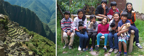 Journey to Connect with Orphaned Children in Peru
