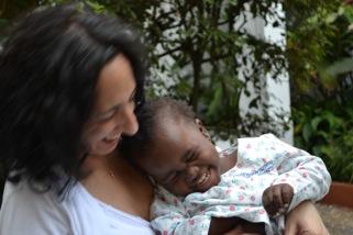 Nina and Antonia, Adoption Grant Recipients