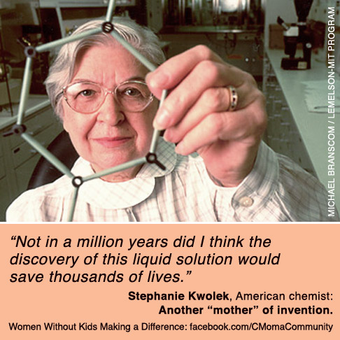 Stephanie Kwolek: Women without Children Making a Difference