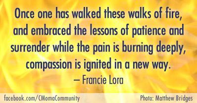 Francie Lora Compassion Quote