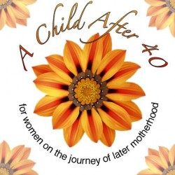 A Child After 40 - logo