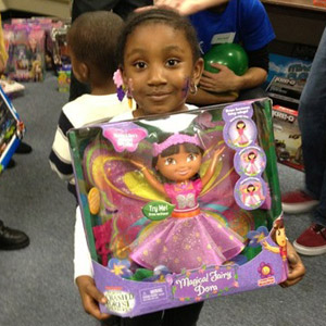 Foster child's wish granted: a new doll