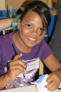 Aleja, whose parents are CMomA Adoption Grant Recipients