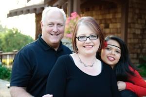Jo, Jeff and Aleja - CMomA Adoption Grant Recipients
