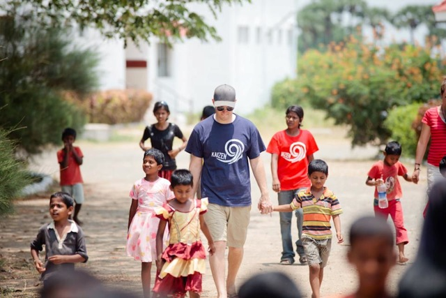 Josh Brazier of the Kaiizen Foundation