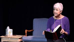 Leigh Curran in Why Water Falls, a play about choosing to be childless